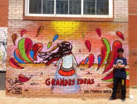 Graffiti Sobre Convivencia Escolar